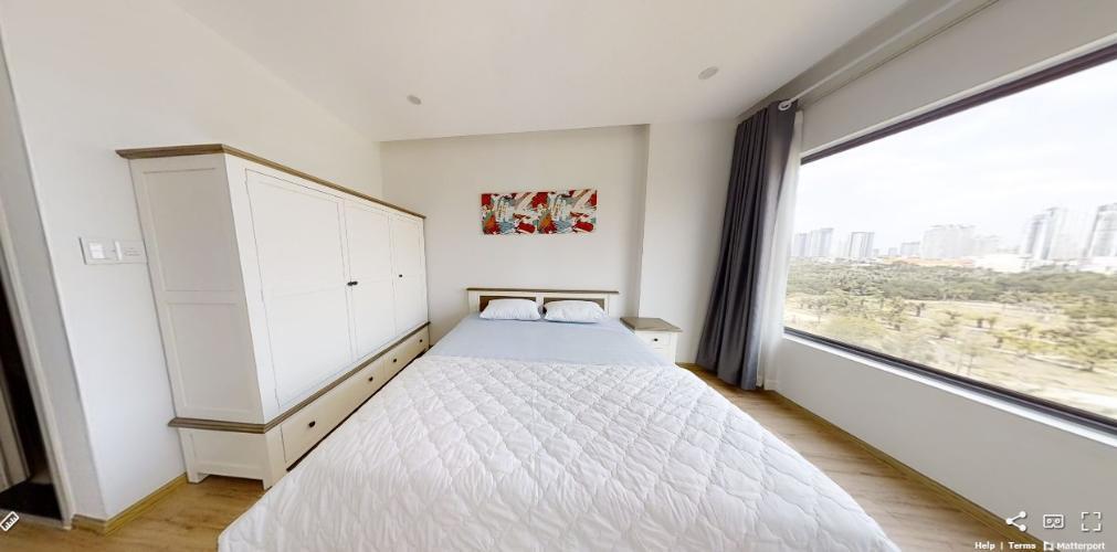 Phòng ngủ căn hộ NEW CITY THỦ THIÊM Cho thuê căn hộ New City Thủ Thiêm 2PN, tầng thấp, đầy đủ nội thất, ban công Tây Bắc