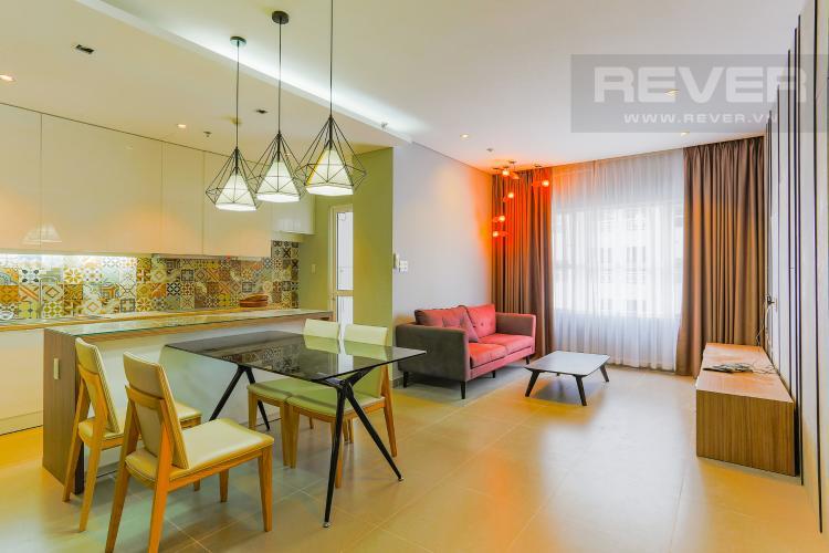 Phòng Ăn Và Phòng Khách Căn hộ Sunrise City 2 phòng ngủ tầng cao W2 view hồ bơi