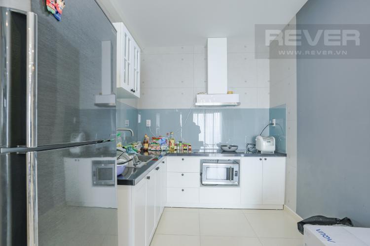 Phòng Bếp Căn hộ M-One Nam Sài Gòn tầng cao 3PN nội thất đầy đủ, có ban công