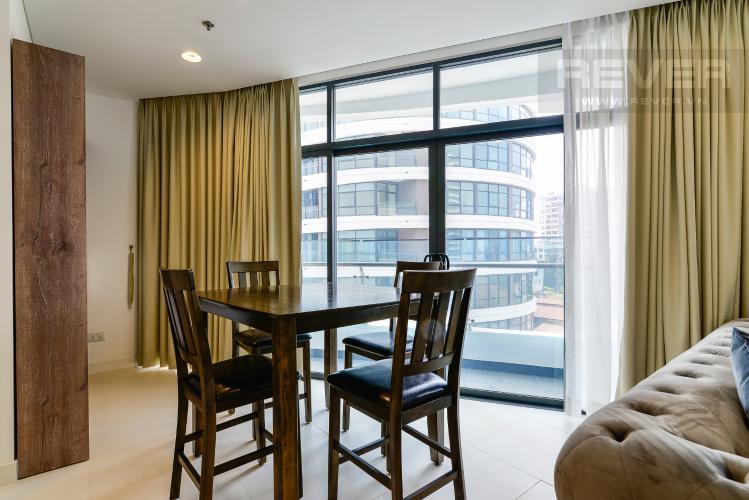 Phòng Ăn Cho thuê căn hộ City Garden view thành phố, 104m2 2PN 2WC, nội thất tiện nghi