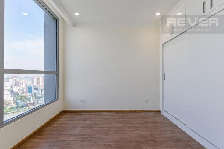 Phòng ngủ 2 Căn hộ Vinhomes Central Park 3 phòng ngủ tầng trung L5 nhà trống