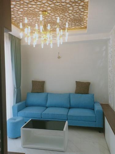 Cho thuê căn hộ tầng cao Saigon South Residence, view nội khu thoáng đãng