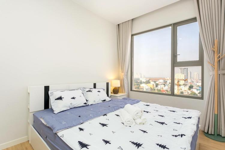 phòng ngủ căn hộ 3 phòng ngủ an gia riverside Căn hộ An Gia Riverside tầng trung, view thành phố sầm uất.