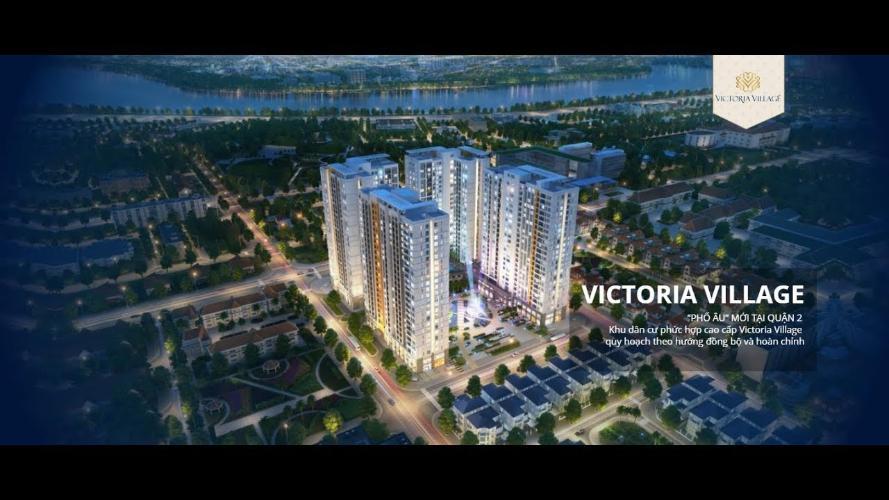 Bán căn hộ Victoria Village diện tích 67m2, 2 phòng ngủ. Ban công hướng Đông Nam.