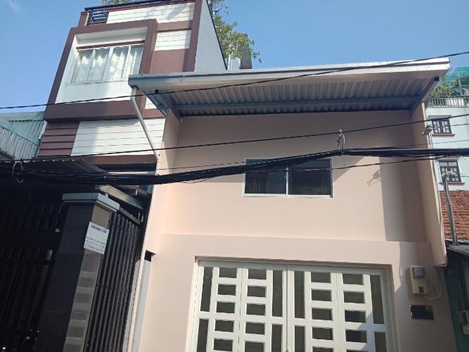 Bán nhà hẻm Bến Vân Đồn, Quận 4, sổ hồng, 1 trệt 1 lửng, hướng Đông Bắc