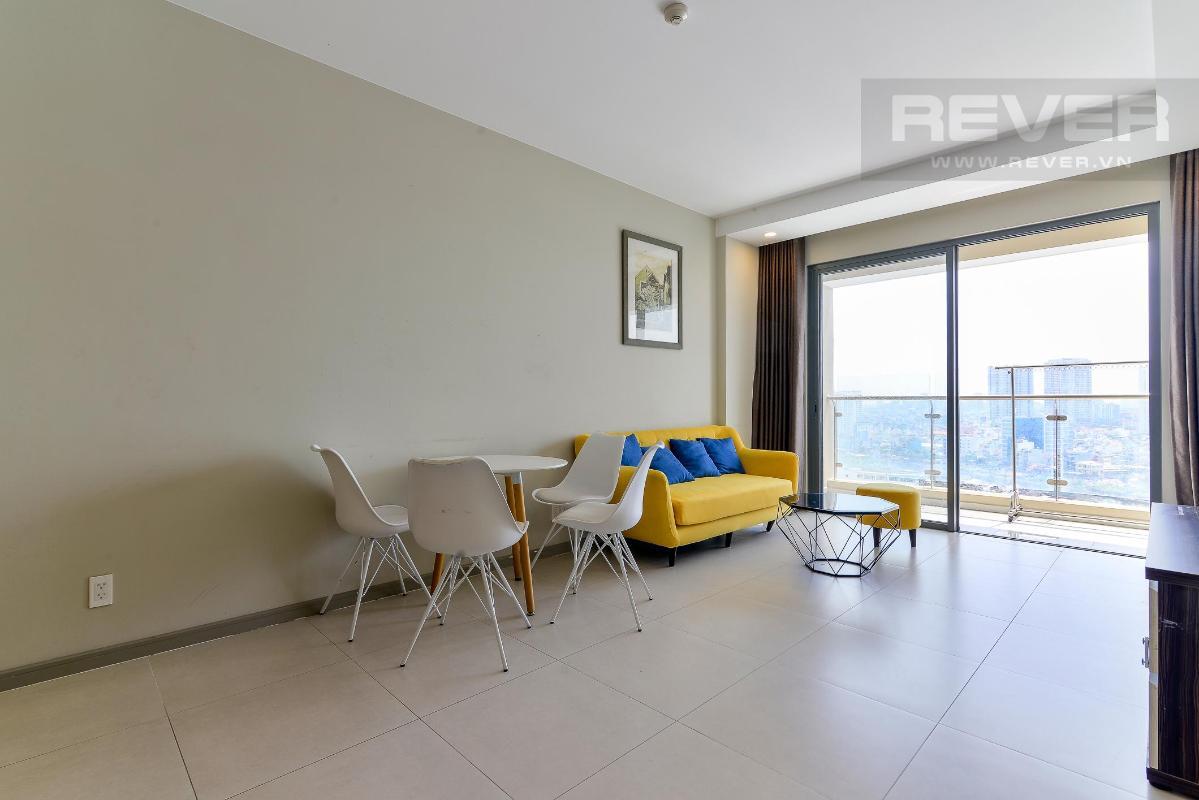 4 Bán hoặc cho thuê căn hộ The Gold View tầng trung, diện tích 80m2, đầy đủ nội thất, view thành phố