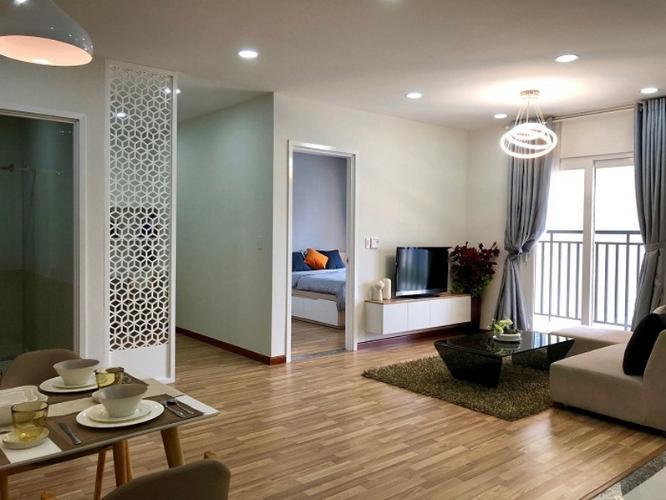 căn hộ mẫu city gate 3 Căn hộ tầng 12A City Gate 3 nội thất cơ bản