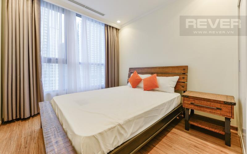 phòng ngủ 2 Căn góc Vinhomes Central Park tầng cao Central 3 đầy đủ tiện nghi