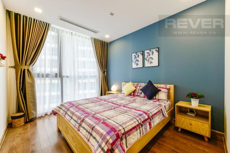 Phòng ngủ 1 Cho thuê căn hộ Vinhomes Central Park 2PN đầy đủ nội thất
