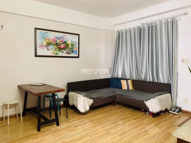 Căn hộ chung cư Tôn Thất Thuyết 2 phòng ngủ, nội thất đầy đủ.