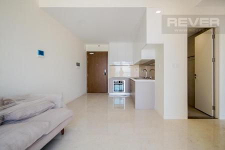 Bán căn hộ Masteri Millennium 2PN, block B, nội thất cơ bản, view kênh Bến Nghé và Bitexco