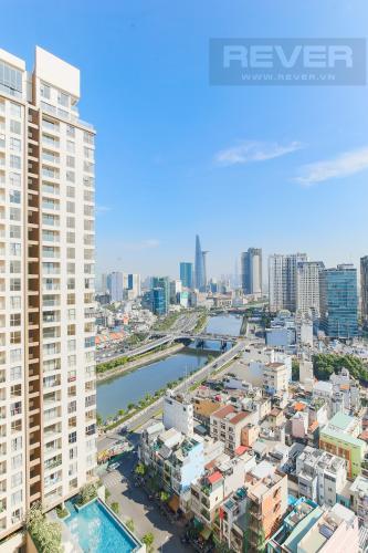 View Căn hộ Masteri Millennium tầng cao, block B, 2PN nội thất đầy đủ