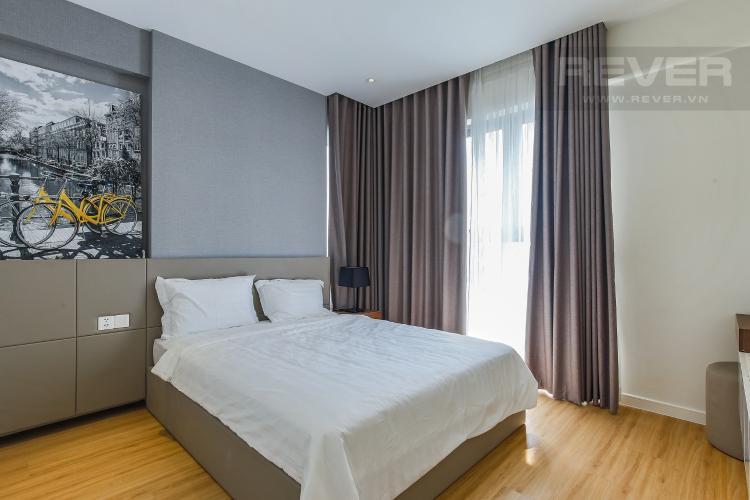 Phòng Ngủ 3 Căn hộ Masteri Millennium tầng cao 3PN đầy đủ nội thất
