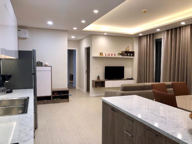 Căn hộ Đảo Kim Cương ban đầy đủ nội thất tiện nghi, tầng 12.