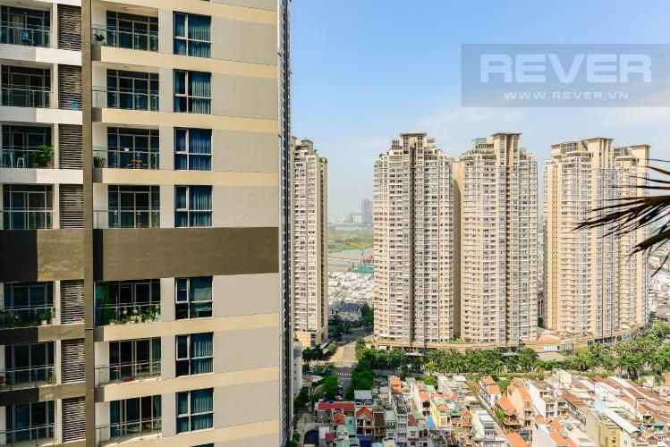 View bán và cho thuê căn hộ Vinhomes Central Park tầng cao, 1PN, đầy đủ nội thất