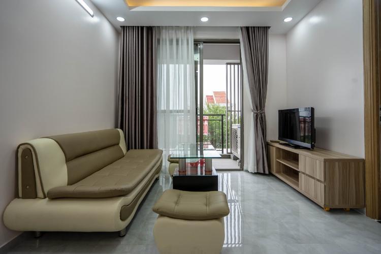 Phòng khách căn hộ Saigon South Residence Cho thuê căn hộ Saigon South Residence nội thất đẩy đủ, view công viên