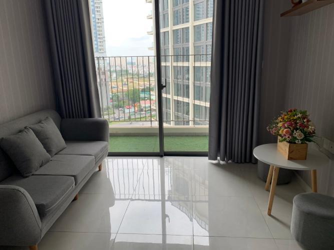 Phòng khách căn hộ MASTERI AN PHÚ Cho thuê căn hộ Masteri An Phú 2PN, tầng 15, đầy đủ nội thất