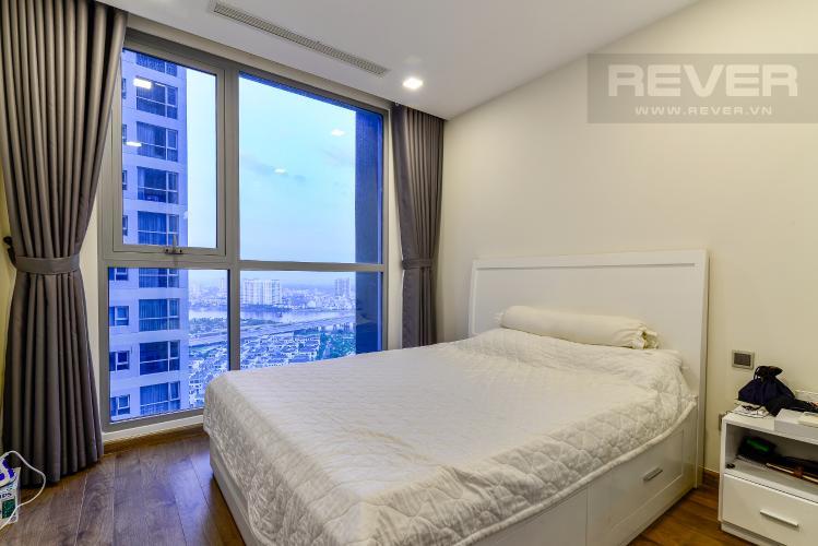 Phòng Ngủ 2 Căn hộ Vinhomes Central Park tầng cao 3PN view sông, nội thất hoàn chỉnh