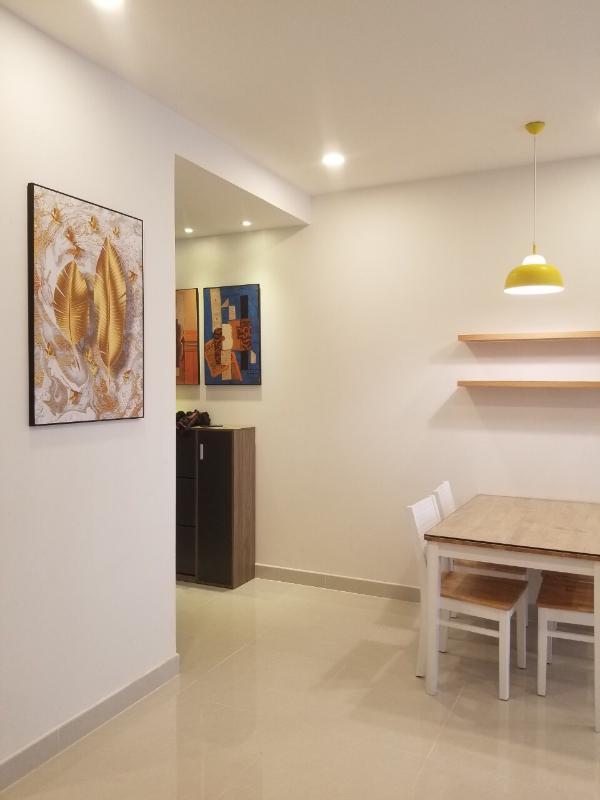 6ec743a4a15f46011f4e Cho thuê căn hộ Saigon Royal 2PN, tầng 18, tháp A, diện tích 88m2, đầy đủ nội thất