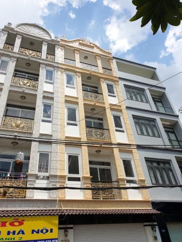 Bán nhà phố đường Lê Tự Tài phường 4 quận Phú Nhuận, diện tích 45.8m2, đầy đủ nội thất, sổ hồng pháp lý đầy đủ.