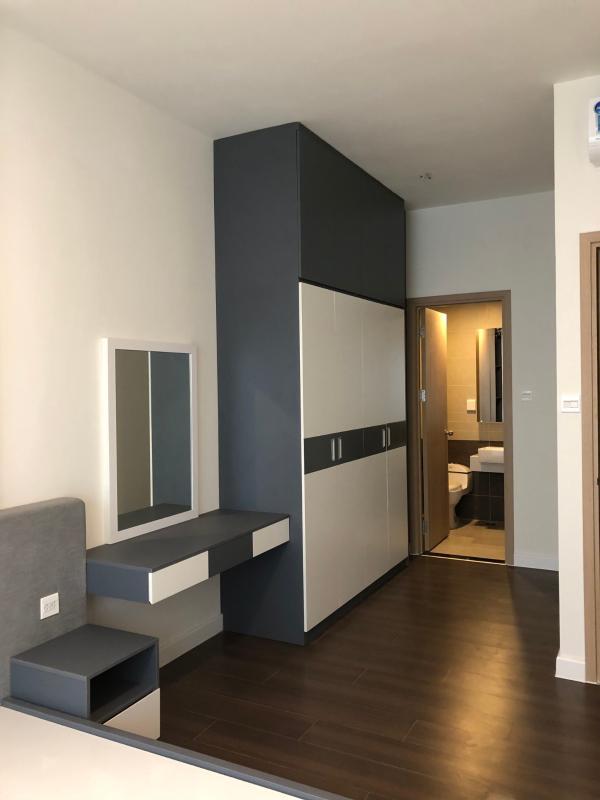 Phòng ngủ Master Bán căn hộ The Sun Avenue 2PN, block 1, diện tích 76m2, đầy đủ nội thất, view sông