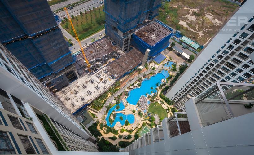 View Căn hộ Estella Heights 2 phòng ngủ tầng cao T2 view nội khu