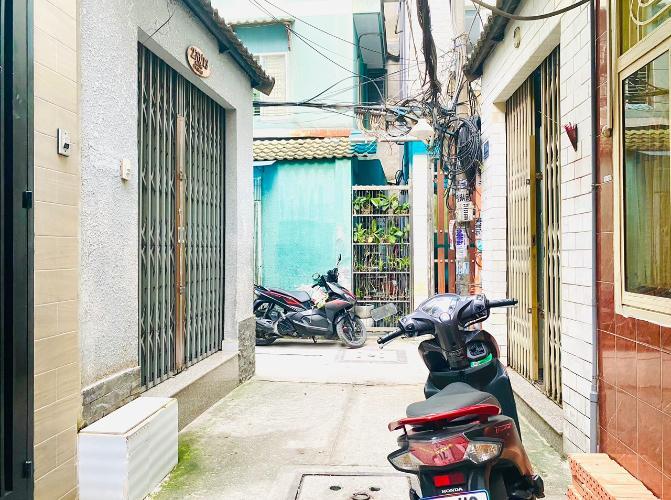 hẻm 2.5 m nhà phố quận 1 Nhà phố 3 tầng hẻm Bùi Viện, diện tích 2.55m x10m