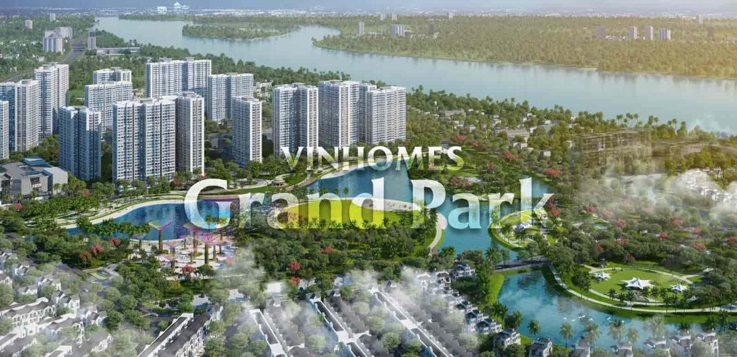 căn hộ Vinhomes Grand Park Căn hộ Vinhomes Grand Park tầng thấp, nội thất cơ bản.