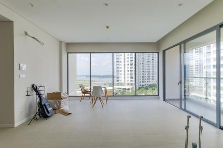 Cho thuê căn hộ office-tel Diamond Island - Đảo Kim Cương 1PN, tháp Canary, diện tích 50m2, view nội khu và sông Sài Gòn