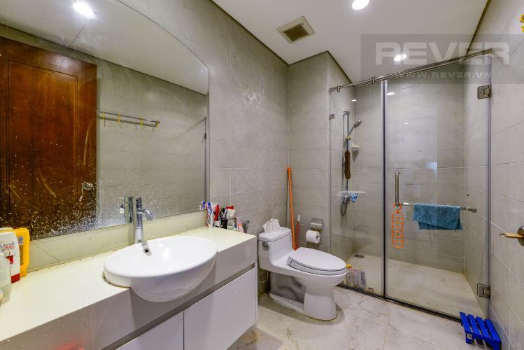Phòng tắm Cho thuê căn hộ Vinhomes Central Park tầng cao, 1PN, đầy đủ nội thất, view sông