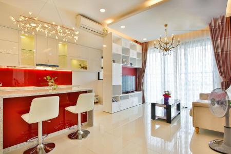 Căn hộ Estella Heights 2 phòng ngủ tầng cao T2 nội thất mới