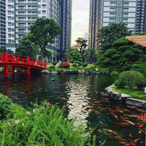 Tiện ích căn hộ Vinhomes Grand Park Căn hộ Vinhomes Grand Park tầng cao view công viên cầu vồng.