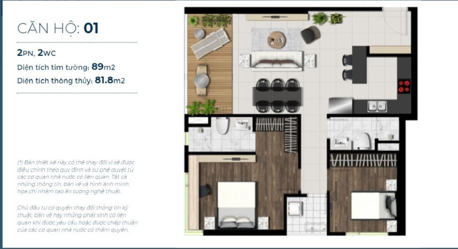 Bán căn hộ tầng trung Sky 89 An Gia hướng Tây, nội thất cơ bản.