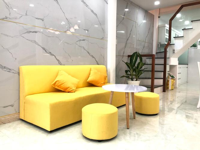 Nội thất nhà phố Quận Gò Vấp Nhà phố Q.Gò Vấp diện tích đất 3.01m x13.95m, nội thất cơ bản.