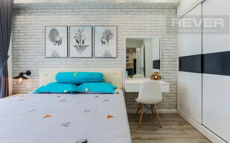 Phòng Ngủ 1 Căn hộ Happy Residence 2 phòng ngủ tầng trung tháp B nội thất đầy đủ