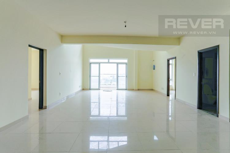 Phòng Khách Bán penthouse Riverside Residence Quận 7, view sông, nhiều tiện ích