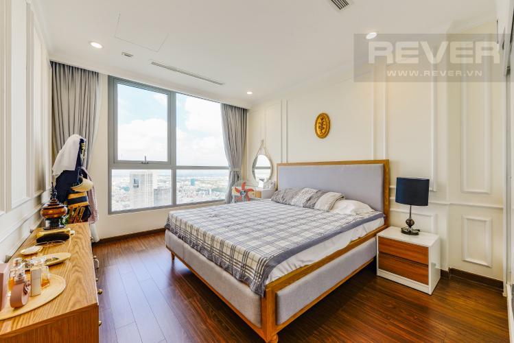 Phòng ngủ 2 Căn hộ Vinhomes Central Park tầng cao, 2PN đầy đủ nội thất, view đẹp