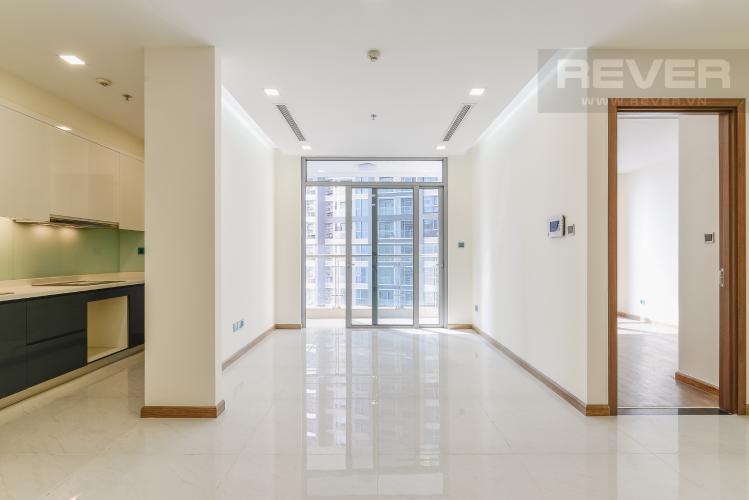 Phòng Khách Căn hộ Vinhomes Central Park tầng trung P3 view sông 2 phòng ngủ