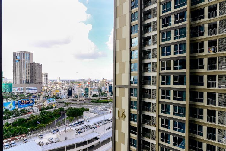View căn hộ VINHOMES CENTRAL PARK Cho thuê căn hộ Vinhomes Central Park 1PN, tầng 15, diện tích 53m2, nội thất cơ bản