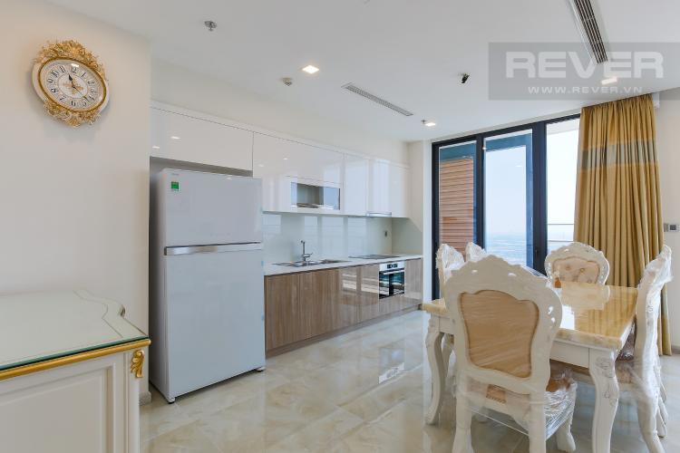 Phòng Bếp Căn hộ Vinhomes Golden River 3 phòng ngủ tầng cao Aqua 4 view sông