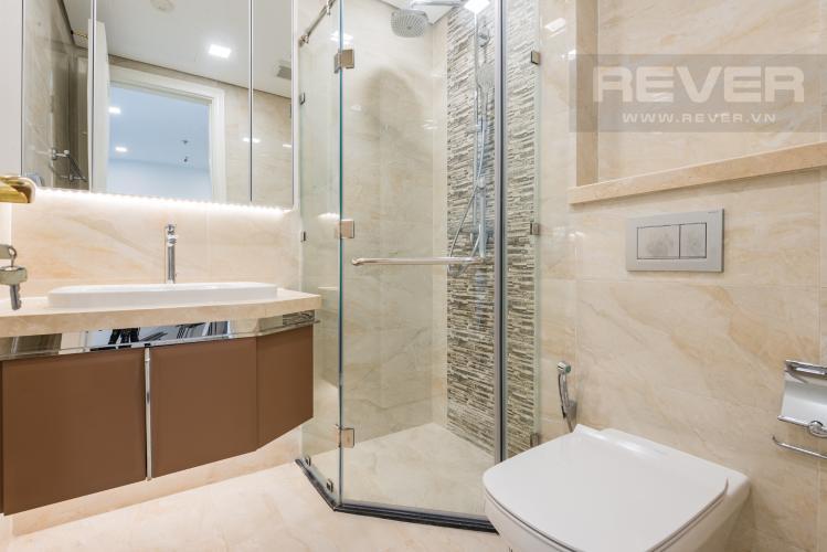 Phòng tắm Căn hộ Vinhomes Golden River 1PN, đầy đủ nội thất, có thể dọn vào ở ngay