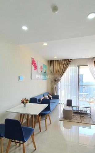 căn hộ Masteri Millennium quận 4 Căn hộ tầng 12 Masteri Millennium nội thất đầy đủ, view sông thoáng mát