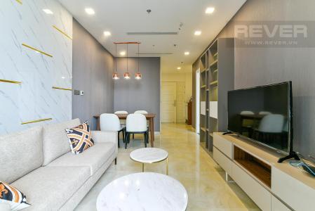 Cho thuê căn hộ Vinhomes Golden River 1PN, diện tích 48m2, đầy đủ nội thất, view thành phố