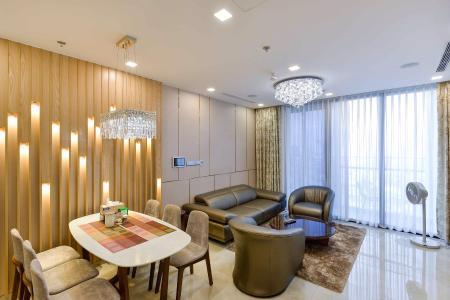 Bán căn hộ Vinhomes Golden River 2PN, diện tích 78m2, đầy đủ nội thất, view thành phố