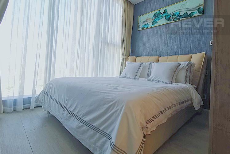 Phòng Ngủ 1 Cho thuê căn hộ Vinhomes Golden River tầng cao, tháp The Aqua 4, đầy đủ nội thất, view sông Sài Gòn