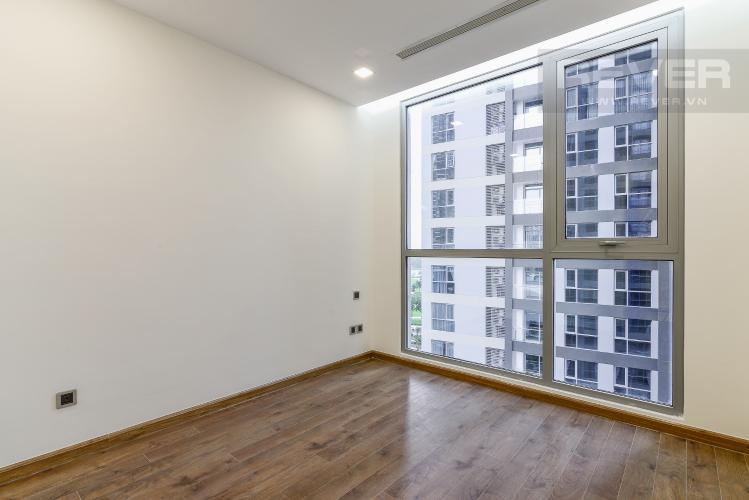 Phòng Ngủ 1 Căn hộ Vinhomes Central Park 2 phòng ngủ nằm ở tầng thấp P7 view hồ bơi