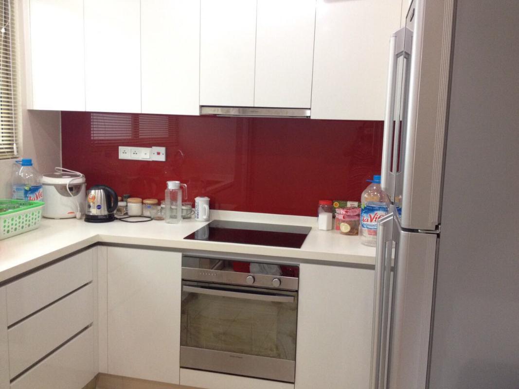 Bếp Bán hoặc cho thuê căn hộ The Vista An Phú 2PN, tháp T4, diện tích 101m2, đầy đủ nội thất, hướng Đông Bắc