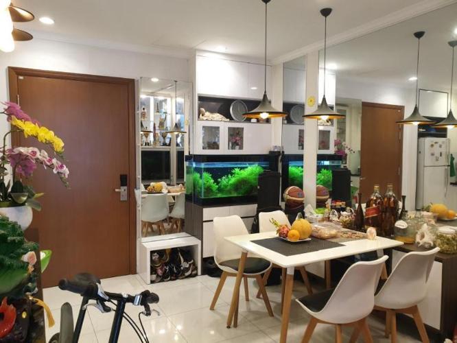 Căn hộ Vinhomes Central Park tầng 30 thoáng mát, nội thất đầy đủ hiện đại