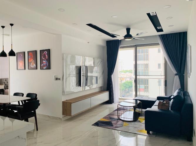 Phòng khách Phú Mỹ Hưng Midtown Căn hộ Phú Mỹ Hưng Midtown nội thất sang trọng, cửa hướng Tây Nam.