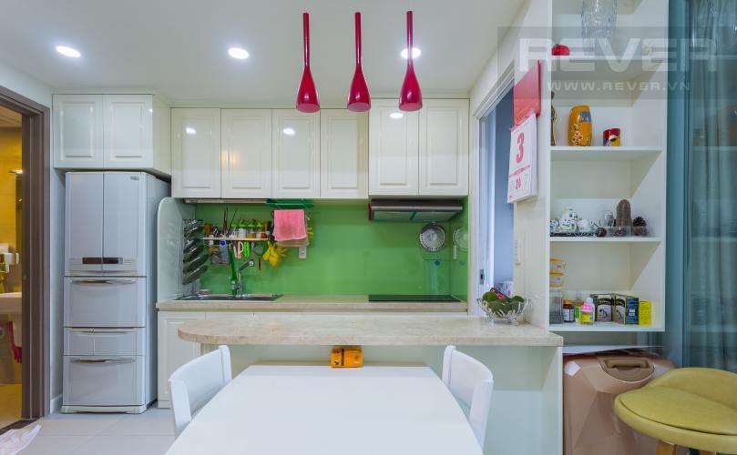 Khu Vực Bếp Bán căn hộ Lexington Residence tầng thấp, 1PN, nội thất đầy đủ